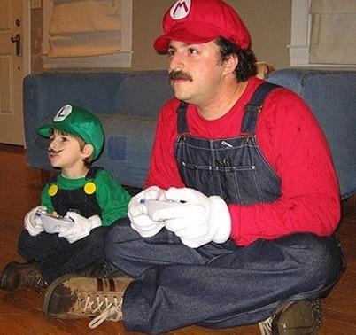 父子情深,搞笑父子温馨可爱图片